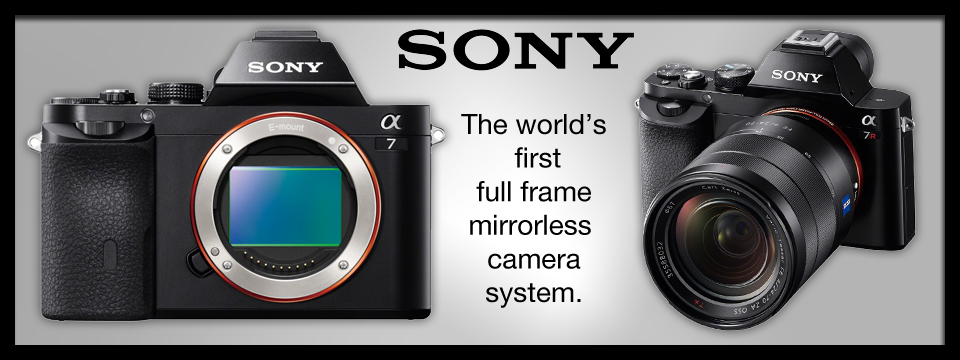 sony full frame mirrorless