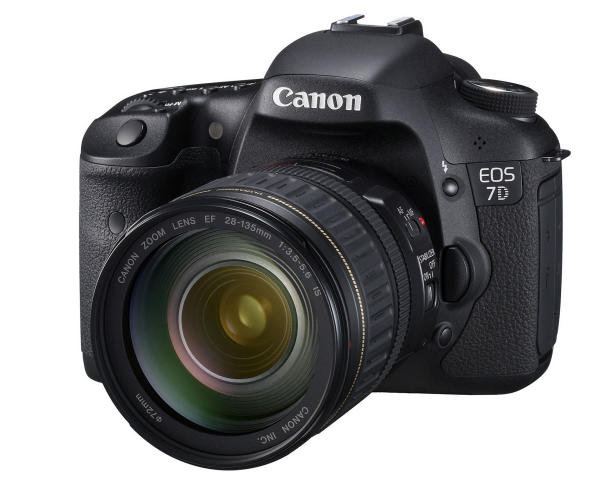 Canon 7d Specialty Kit w/18-135