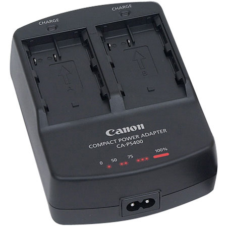 Dual Canon Battery Charger