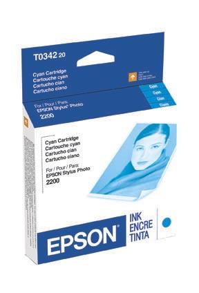 Epson 2200 Cyan ink