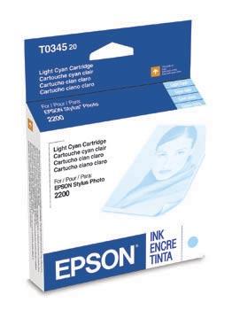 Epson 2200 Lt. Cyan ink