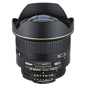 Nikon 14mm f/2.8 D AR Nikkor