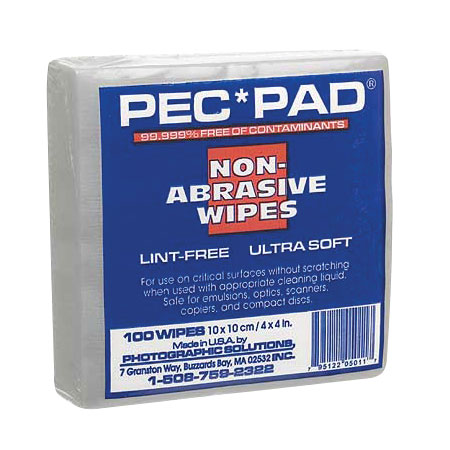 PEC*PAD, LINT FREE WIPES